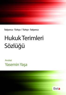 Hukuk Terimleri Sözlüğü İtalyanca - Türkçe
