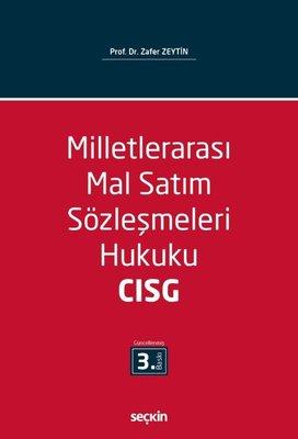 Milletlerarası Mal Satım Sözleşmeleri Hukuku-CISG
